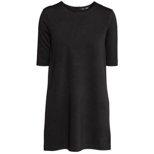 H&M Dresses - H&M Dark Gray Jersey Mini Dress